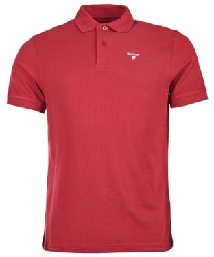 Men's Barbour Sports Polo 215G - Biking Red