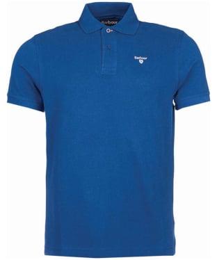 Men's Barbour Sports Polo 215G - Deep Blue