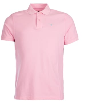 Men's Barbour Sports Polo 215G - Pink