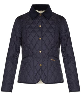 Women's Barbour Summer Liddesdale Quilted Jacket - Navy