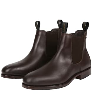 Men's Dubarry Kerry Leather Boots - Mahogany