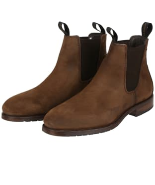 Men's Dubarry Kerry Leather Boots - Walnut