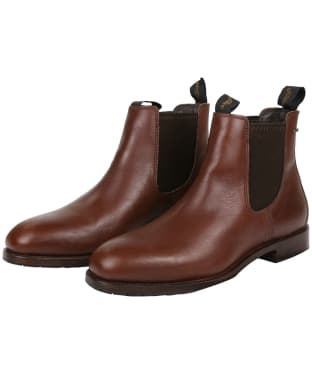Men's Dubarry Kerry Leather Boots - Chestnut