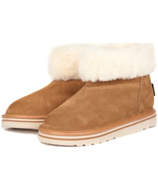 Women's Barbour Ashley Slipper Boots - Camel
