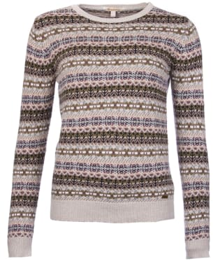 Women's Barbour Mallow Knit Sweater - Ecru