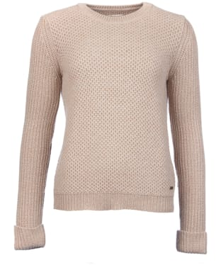 Women's Barbour Haslingden Knit - Beige