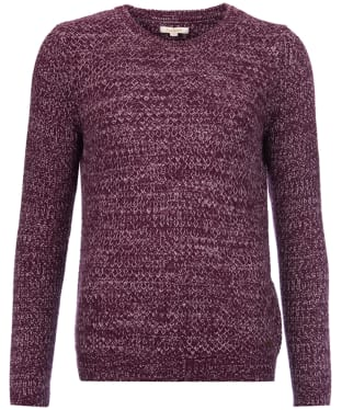 Women's Barbour Haslingden Knit - Plum