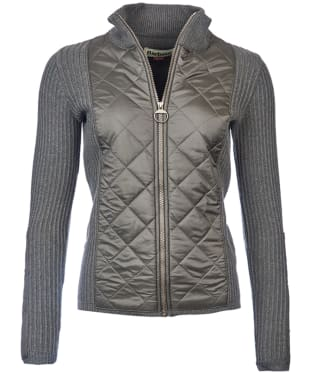 Women's Barbour Sporting Zip Knit - Olive