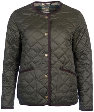 Women's Barbour  Oversized Liddesdale Jacket - Sage
