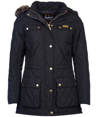 Women's Barbour International Enduro Quilt - Black