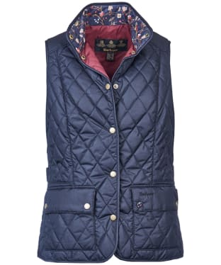 Women's Barbour Saddleworth Gilet - Navy
