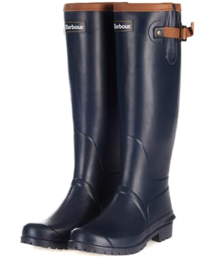 Women's Barbour Blyth Wellingtons - Navy
