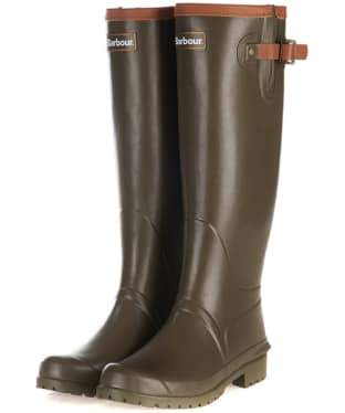Women's Barbour Blyth Wellingtons - Olive