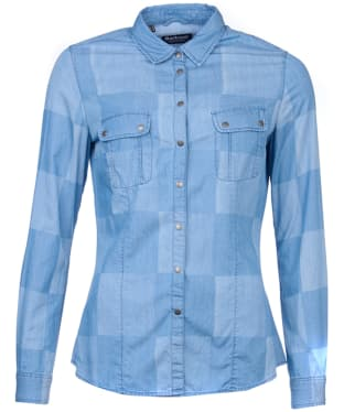 Women's Barbour International Fins Shirt - Chambray