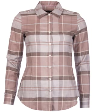 Women's Barbour Jura Shirt - Oyster Check