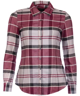 Women's Barbour Jura Shirt - Port Check