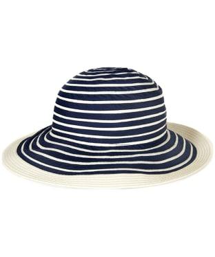 Women's Barbour Sealand Sun Hat - Navy Stripe
