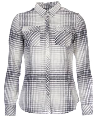 Women's Barbour International Turini Shirt - Black Check