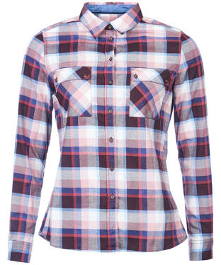 Women's Barbour Darwen Check Shirt - Pink Check