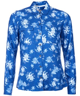 Women's Barbour Wedgwood Susannah Shirt - Navy