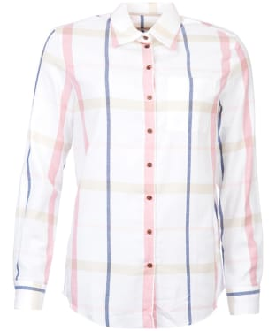 Women's Barbour Oxer Shirt - Pink Check