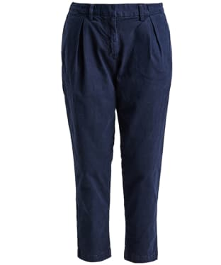 Women's Barbour Pleated Chinos