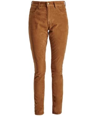 Women's Barbour Aster Cord Trousers - Stone