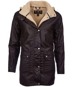 Women's Barbour Aletsch Waxed Jacket - Rustic