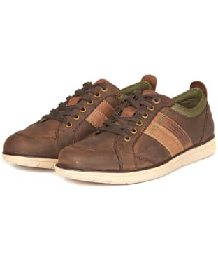 Men's Barbour Finn Casual Shoes - Truffle