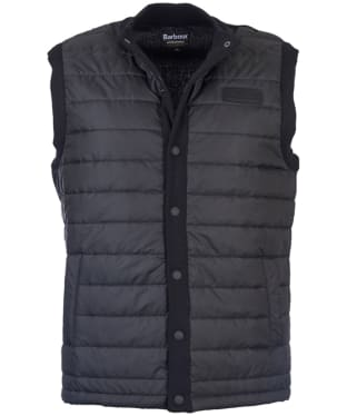 Men's Barbour International Baffle Gilet - Black
