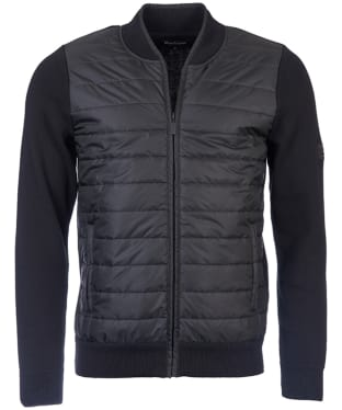 Men's Barbour International Baffle Zip Through Knit