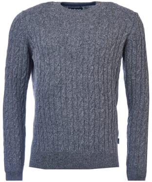 Men's Barbour Essential Cable Crew Neck Sweater