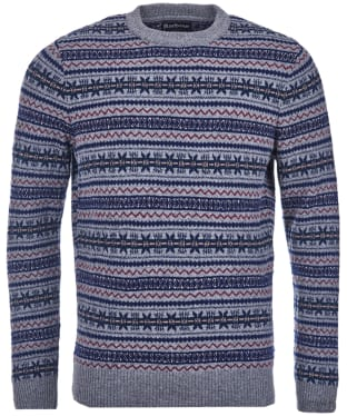 Men's Barbour Harvard Fairisle Crew Neck Sweater