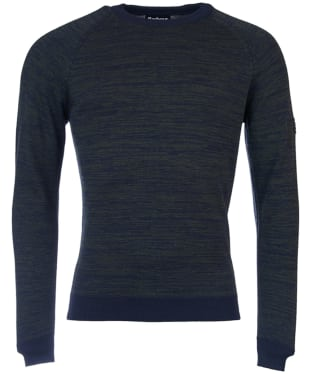 Men's Barbour International Victory Crew Neck - Navy