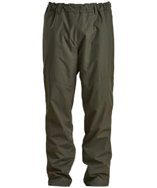 Men's Barbour Dunnock Waterproof Trousers - Forest