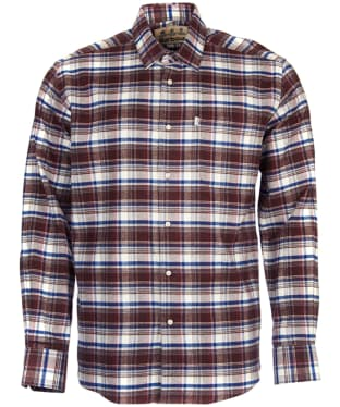 Men's Barbour Roe Shirt - Rustic Check