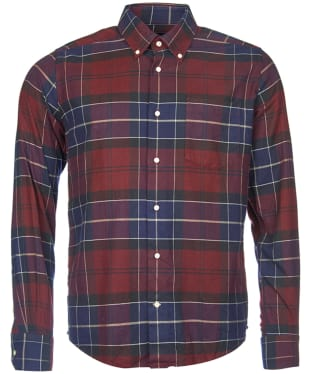 Men's Barbour Lustleigh Shirt - Merlot Check