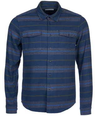 Men's Barbour Deck Shirt - Navy Stripe