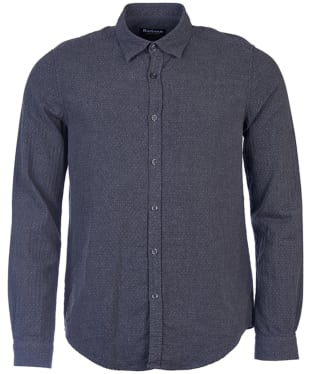 Men's Barbour International Dott Shirt - Charcoal