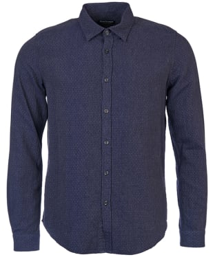 Men's Barbour International Dott Shirt - Navy