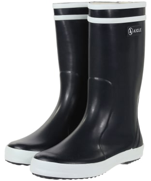 Aigle Children's Lolly-Pop Wellingtons - Marine