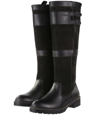 Women's Dubarry Longford Leather Boots - Black
