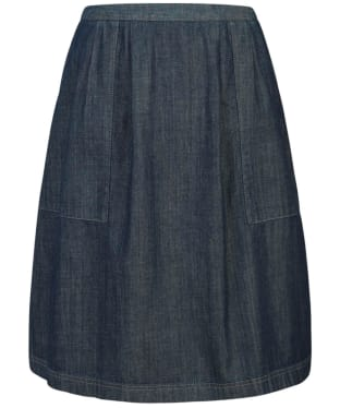 Women's Seasalt Dropper Loop Skirt - Ecru Indigo