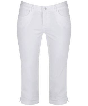 Women's Musto Elisa Capri Trousers - Bright White