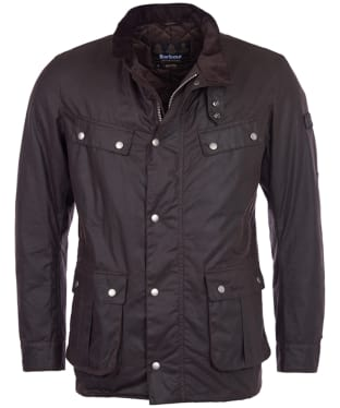 Men's Barbour International Duke Wax Jacket - Rustic