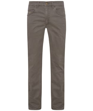 Men's R.M. Williams Linesman Stretch Drill Jeans - Regular Fit - Straight Leg - Silt