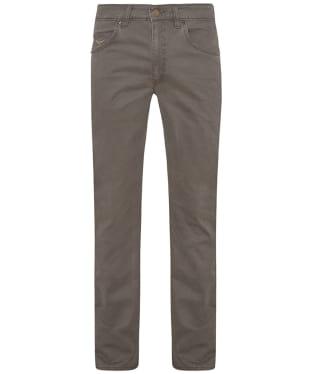 Men's R.M. Williams Linesman Stretch Drill Jeans - Regular Fit - Straight Leg - Silt