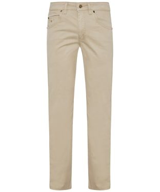 Men's R.M. Williams Linesman Stretch Drill Jeans - Regular Fit - Straight Leg - Buckskin