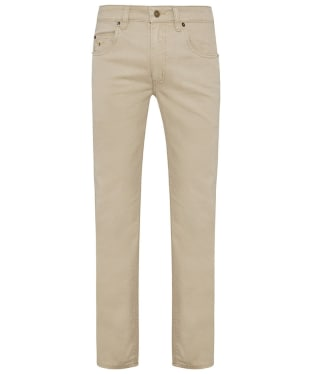 Men's R.M. Williams Linesman Stretch Drill Jeans - Slim Fit - Tapered Leg - Buckskin