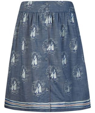 Women's Seasalt Folklore Skirt - Tacking Indigo